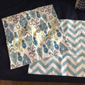 Other - Set of 2 accent pillow ikat geometric covers